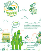 runza adventures out west