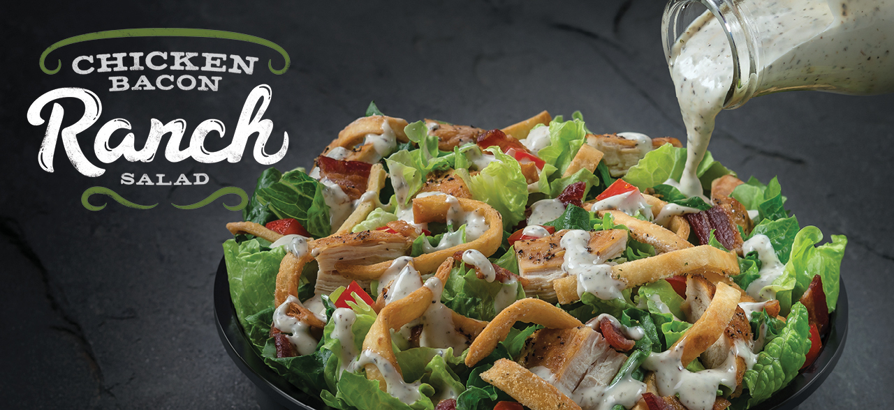 Chicken Bacon Ranch Salad