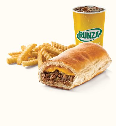 Cheese Runza® Sandwich Meal