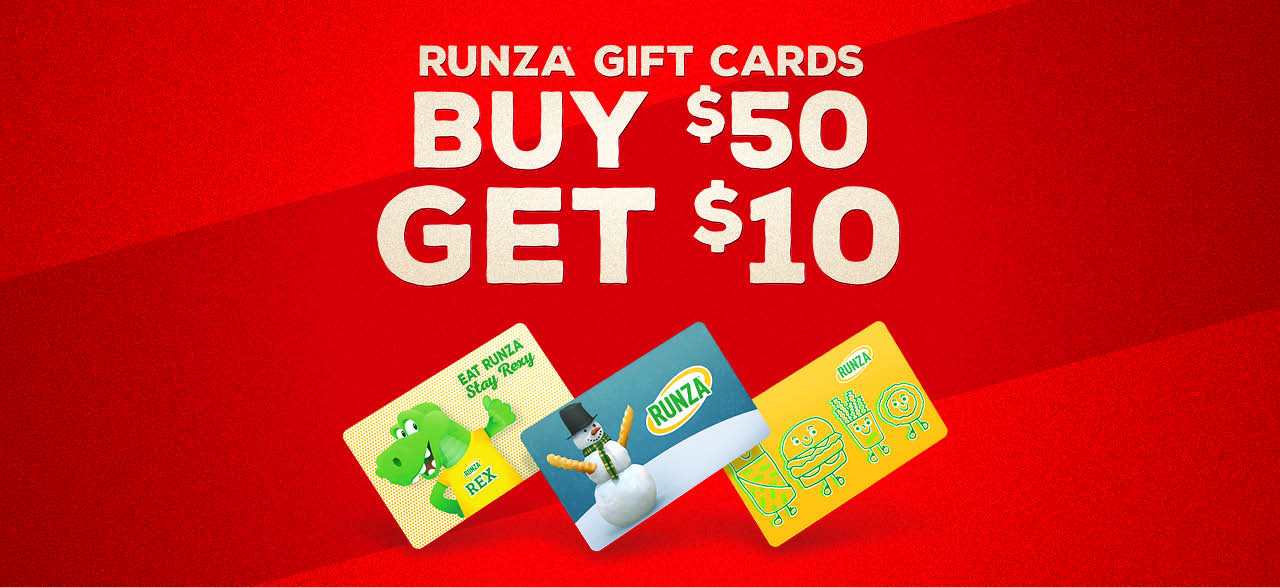 Holiday Gift Card Deal Spend $50, Get $10 Bonus